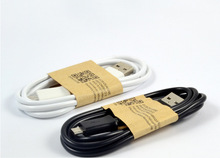 1m Micro USB Data Sync Charging Cable for Samsung Galaxy S2 S3 S4 for HTC for LG Sony Nokia Blackberry white and black