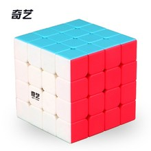 2017 New QiYi Yuan S 4x4 Magic Cube Puzzle Speed Cube(China)