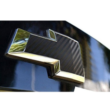 4D Carbon Fiber Vinyl Front and Back Logo sticker Case for Chevrolet chevy 2011 2012 2013 2014 Cruze 3 sedan Accessories