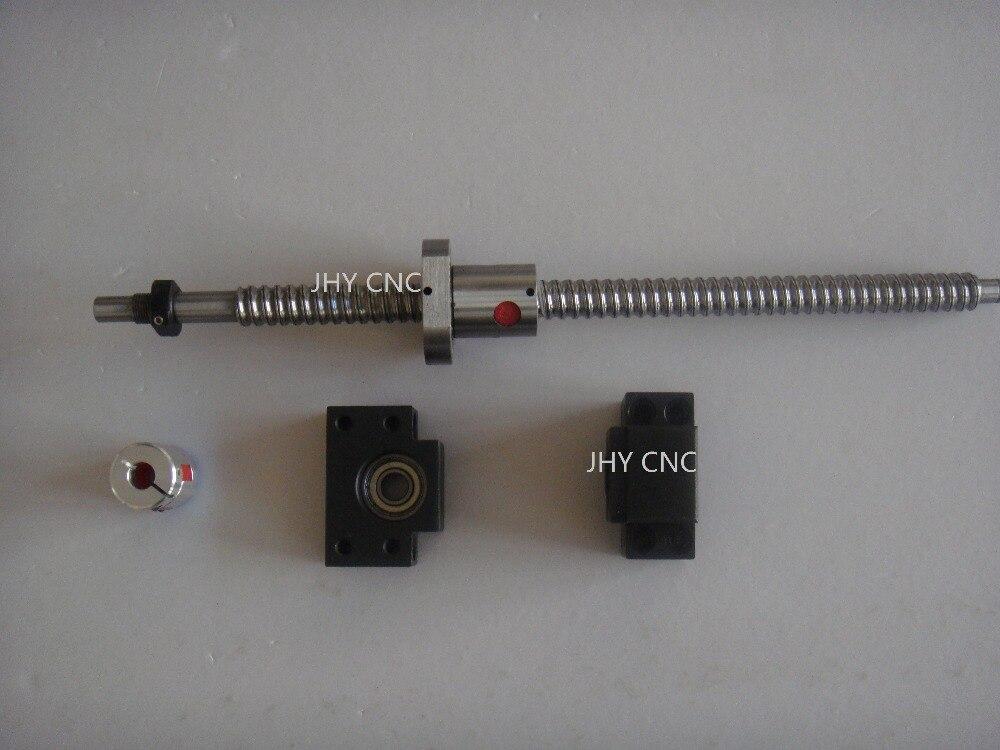 1antibacklash ballscrew 1605-430mm-C7+BK/BF12+coupler<br>