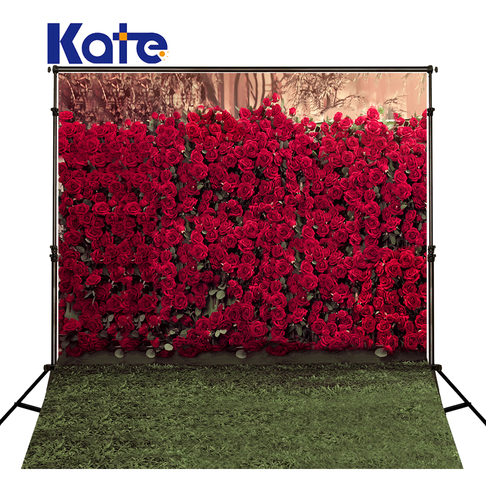 KATE Photography Backdrops Flower Photo Backgrounds Wedding Backdrops Wedding Flower Backdrop Romantic Backgrounds For Photocall<br>
