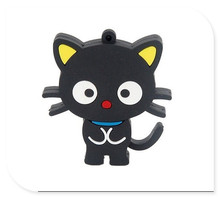 BLACK usb flash drive lovely cat usb flash drives thumb pendrive u disk usb creativo memory usb flash drive stick S261