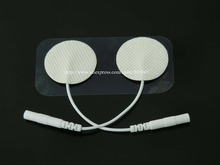 20Pairs/Lot Tens EMS Acupuncture Electrode Pads For Slimming massager Digital Therapy Machine Massager Diameter 3cm(China)