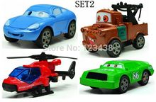 Pullback Metal Alloy Miniature  Cars Sheriff  Matel Mike Diecasts & Toy Vehicles Toys, 4pcs