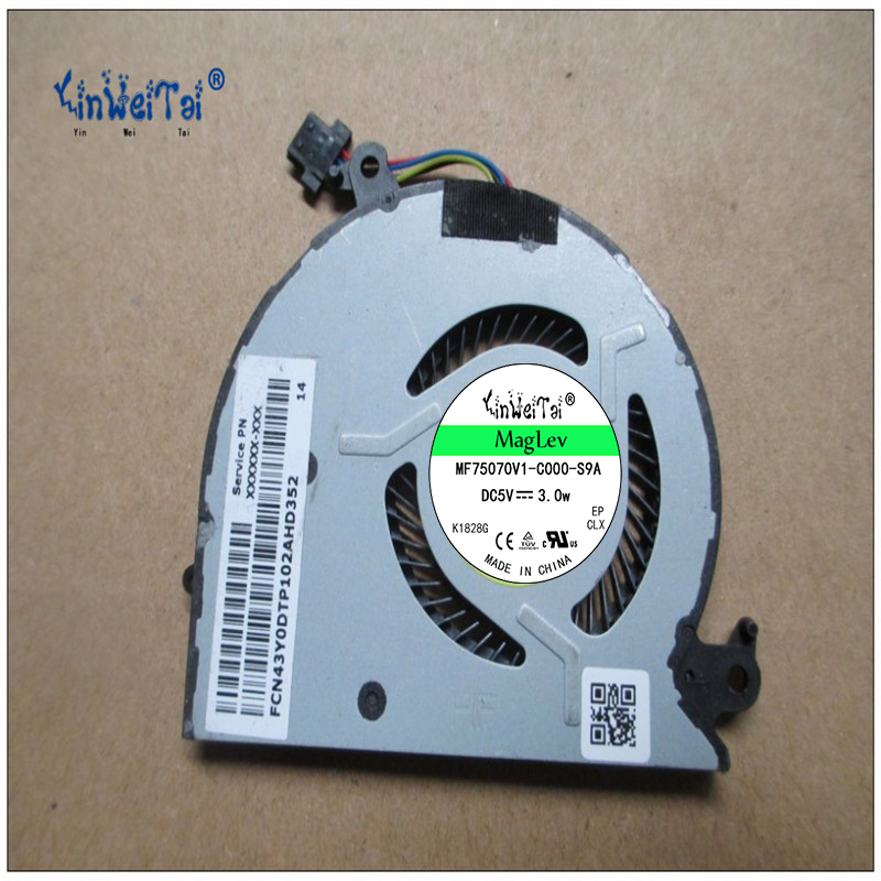 New and Original CPU fan for AVC BABA0604R5H-Y001 5V 0.5A ASV43Y0DTP202ALD366<br>