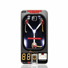 18541 back to the future flux capacitor cell phone case cover for Samsung Galaxy J1 MINI J2 J3 J7 ON5 ON7 J120F 2016 2015