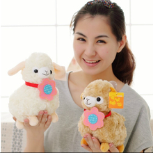 22cm Creative Alpaca Plush Toy Doll Cute Animal Sheep Lamb Birthday Gift Kids Girls Toy