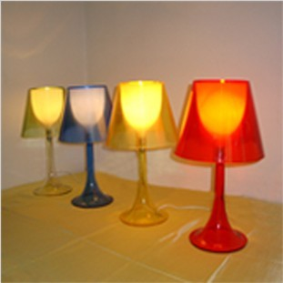 Brief fashion multicolour acrylic table lamp exquisite computer desk lamp bedroom bedside lamp<br><br>Aliexpress