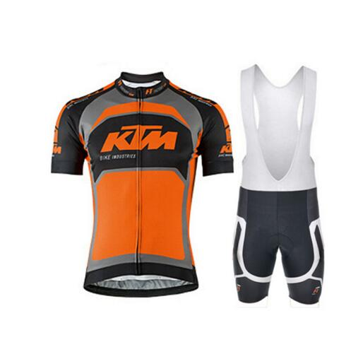 KTM 2016 Breathable Cycling Jersey Summer Mtb Cycling Clothing Bicycle Short Maillot Ciclismo Sportwear Bike Clothes
