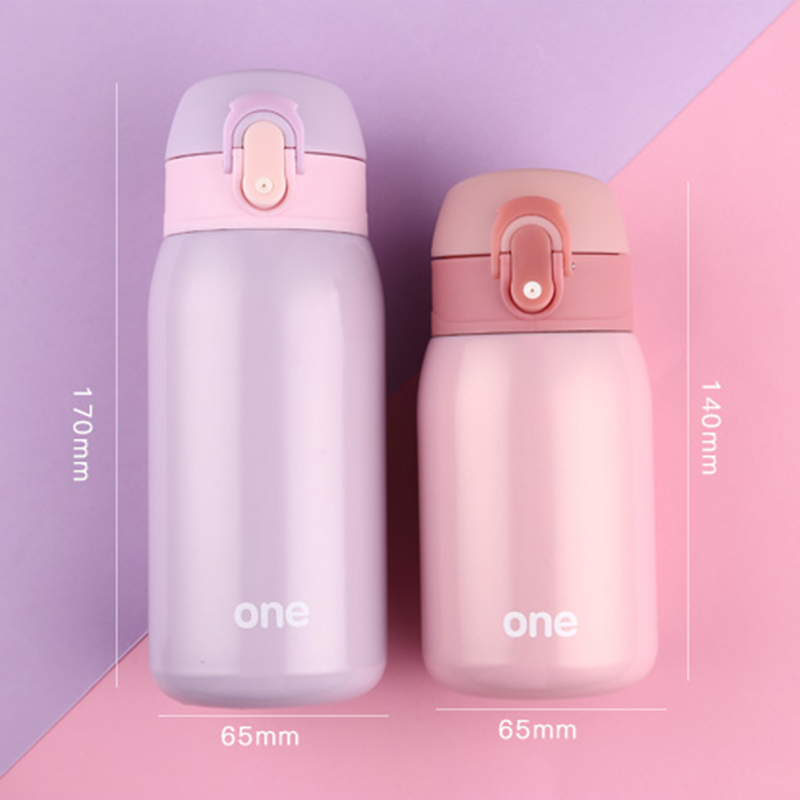 Baby Thermos Feeding Bottle Child 304 Stainless Steel Vacuum Flask Water Cup Cute Mini Toddler Drink Kid Insulation Cup BB5107 (10)
