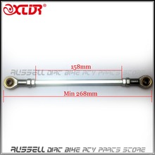 "Universal 11"" x 5/16 Steering Go kart Tie Rod Ball Joint 270mm-300mm 8mm For Buggy Gokart Hotrod Project(China)"