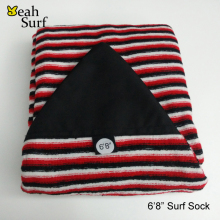 Surfboard sock Stretch Terry Sock Cover 6ft-10ft 12 Sizes of Surfboard Sock Knit Stretch terry surf