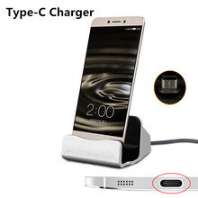 USB 3.1 Type-C Dock Charger Station Holder Type C Charging Cradle For Samsung Galaxy S8 Huawei Nova P9 P10 Plus LG G6 Xiaomi 5