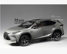 NEW LEXUS NX NX200T SUV 1:18 original car model Luxury car kids toy High quality Pearl White Toyota Group beautiful gift boy