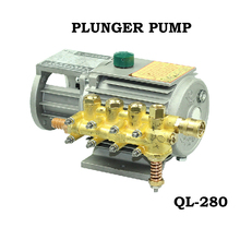 Household cleaner high pressure car wash pump car high voltage copper ql280 pump head
