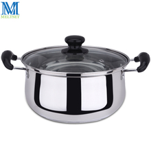Stainless Steel Double Bottom Pot Soup Pot Nonmagnetic Cooking Pot Multi-purpose Cookware Non-stick Pan(China)