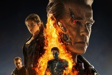 DIY frame Terminator Genisys Movie Film Poster Print For Gift Arnold Schwarzenegger , Emilia Clarke(China)