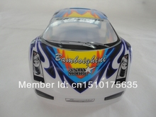 Ewellsold 022 1/10 Scale On-Road Drift Car Painted PVC Body Shell 190MM for 1/10 Radio controlled car 2pcs/lot free shipping