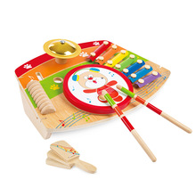 SUKIToy Classic Wooden Xylophone for infant playing funny Musical Instrument