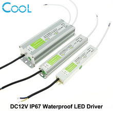 LED Driver DC12V IP67 Waterproof Lighting Transformers for Outdoor Lighs Power Supply 10W 20W 30W 45W 60W 100W 150W