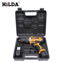 12V Electric Screwdriver Lithium Battery Rechargeable Screwdriver Drill Multi-function Cordless Electric Drill Power Tools(China)