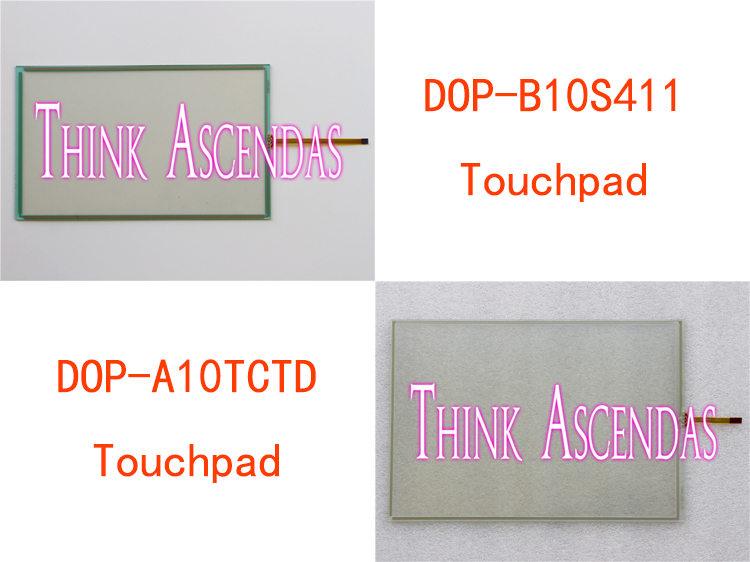 2pcs New DOP DOP-B10 DOP-B10S411 DOP-B10S615 / DOP-A10 DOP-A10TCTD DOP-A10THTD1 DOP-AE10 DOP-AE10THTD1 Touchpad<br>