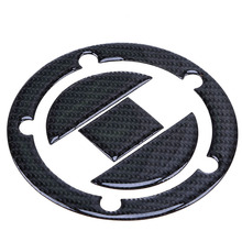 5/8 Hole Carbon Fiber Motorcycle Fuel Gas Tank Cap Covers Pad Sticker Protector for Suzuki GSXR 600 750 1000 1300 Hayabusa SV650
