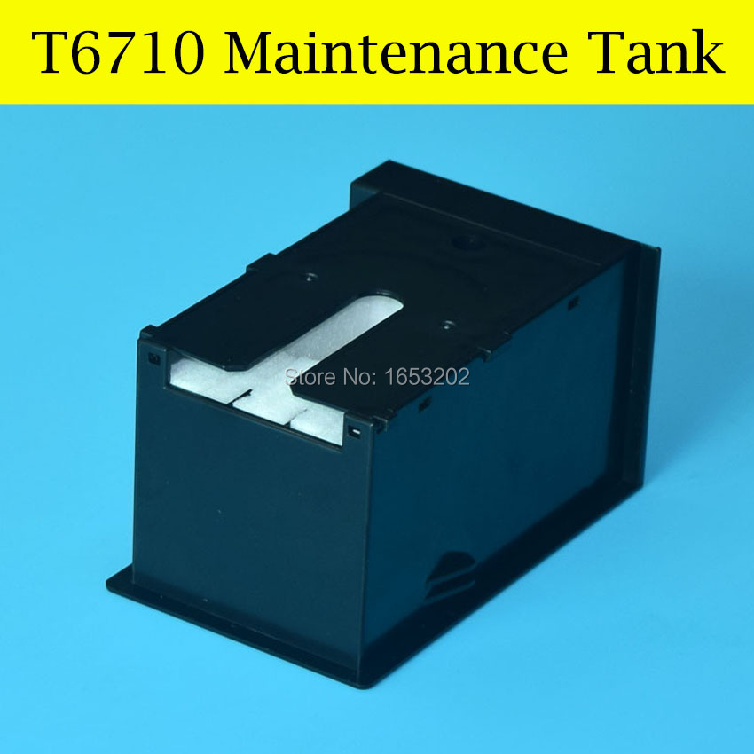 1 Piece T6710 Maintenance/Waste Ink Tank Box For Epson Workforce Pro WP-4530/4540/4020 WF-4630/4640/5690 WF-5190/5620/5110<br><br>Aliexpress