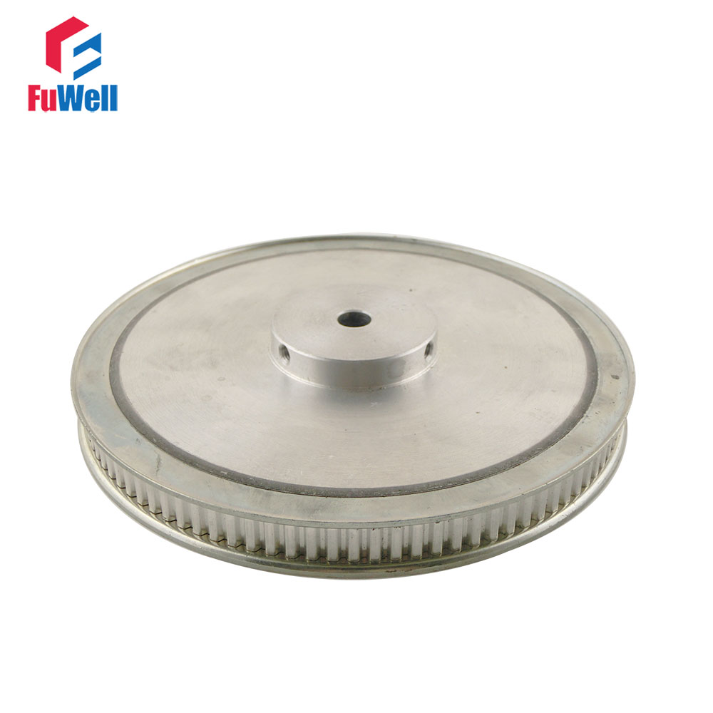 XL Type 100T Timing Pulley 10/12mm Inner Bore 11mm Belt Width 5.08mm Pitch 100Teeth Aluminum Alloy  Synchronous Pulleys<br>