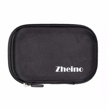 Zheino 2.5 inch HDD Bag Black Small Compact Protective Portable Shockproof Zipper Case Universa USB External Portable Hard Drive(China)
