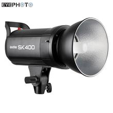 Godox SK400 Professional 400WS GN65 Studio Flash Strobe Light Photographic Lighting SK Series with 150W Modeling Lamp