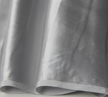 100% pure mulberry Soft Satin Grey Silver Suzhou Duan Silk Satin Coat Skirt Scarf dressmaking materials 5 yards I333