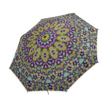 Sports Rain Umbrella - Strong Frame Unbreakable Mandala Pattern Portable Sunny Sky Rain Umbrella