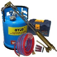 Free shipping GY300C-10 Oxy-petrol cutting torch outfit scrap steel oxy gasoline cutting machine(China)