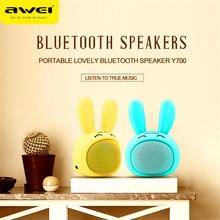 Awei Y700 Cute Innovative Wireless Bluetooth Speaker Mini Portable Smart HIFI Speaker Mini Portable Bluetooth Speaker
