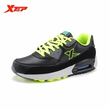 XTEP Brand Running Shoes for Men Athletic Sneakers Trainers Air Cushion Sole Damping Non-slip Men's Sports Shoes 985419325251