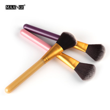 MAANGE 1Pcs Powder Blush Makeup Brushes Tools Soft Hair Pro Cosmetic Kabuki Blending Countour Cream Make Up Beauty Brush Tools(China)