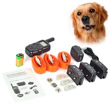 600B Model 300meter 100LV Level Electronic Shock Vibrador LCD Display Remote Control Pet Dog Training Collar For Dogs