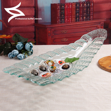 Jade rock glass Sushi Japanese restaurant Salmon Sashimi tableware assorted cold dishes seafood Ice Dragon Hotel