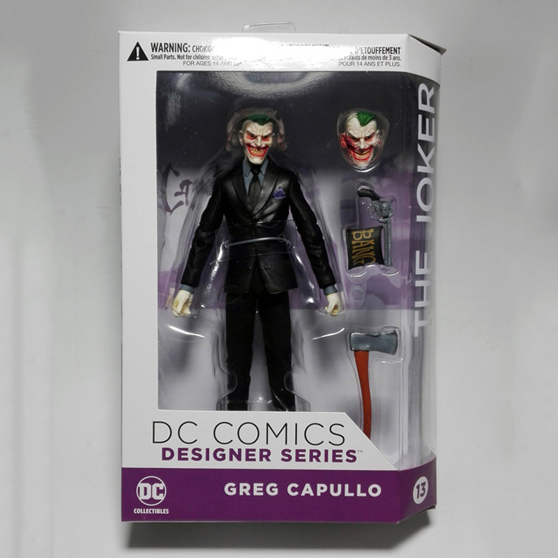 C&amp;F Suicide Squad Anime Action Figure Toys Joker Harleen Quinzel Batman Superhero Collectible PVC Figures Toys For Gifts<br>