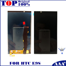 For HTC One E9S LCD Display + Touch Digitizer Screen 100% Real Original LCD Replacement for HTC E9S Free ePacket or HK Post