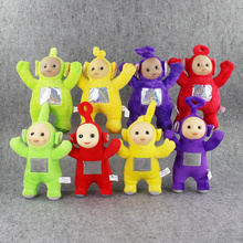 4Pcs/Lot 25cm Teletubbies Plush Toys Laa Po Tinky Dipsy Plush Doll Stuffed Soft