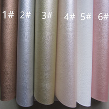 6pcs 21 x 30cm A4 sheet PU leather fabric faux leather synthetic leather material for DIY fabric BH154(China)