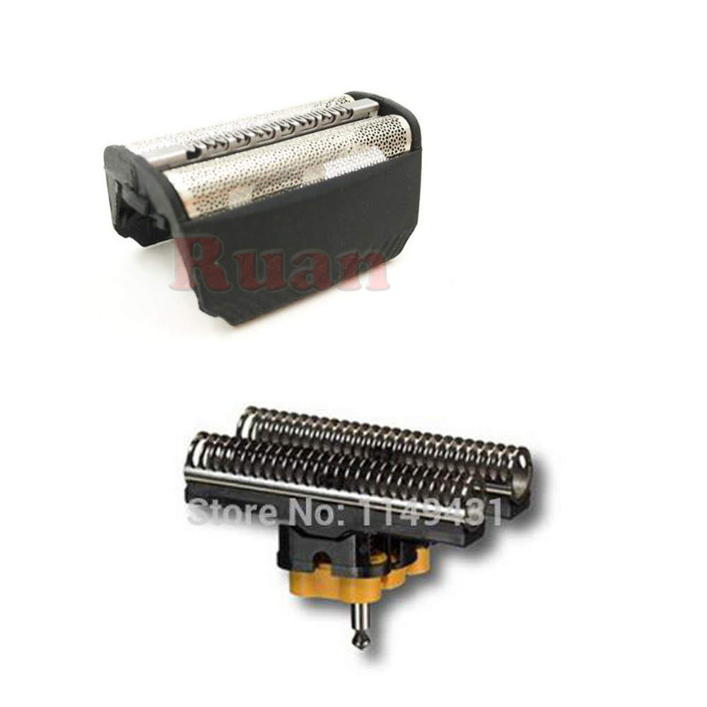 30B Shaver Foil Cutter Shaver Head for Braun series 3 Shaver FOIL+CUTTER SET for 195s 197s 199s 197 199 fix 400<br>