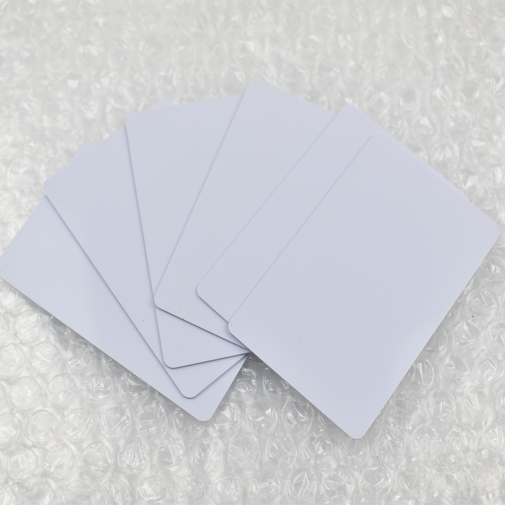 100pcs/lot 13.56mhz Inkjet Printable PVC card Fudan nfc 1K S50 chip for Epson printer, Canon printer<br>