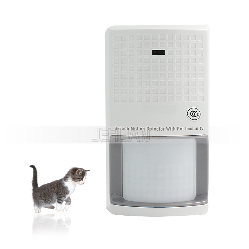 SK-135 wired Three Kam intelligent detectors infrared +microwave sensor Anti pet Link to Alarm system FREE SHIPPING<br>