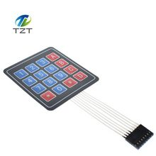 10pcs  4x4 keypad / 4x4 Matrix 16 Key Membrane Switch Keypad module Keyboard For MCU PIC ATMEL AVR ATMEGA 10pcs/lot