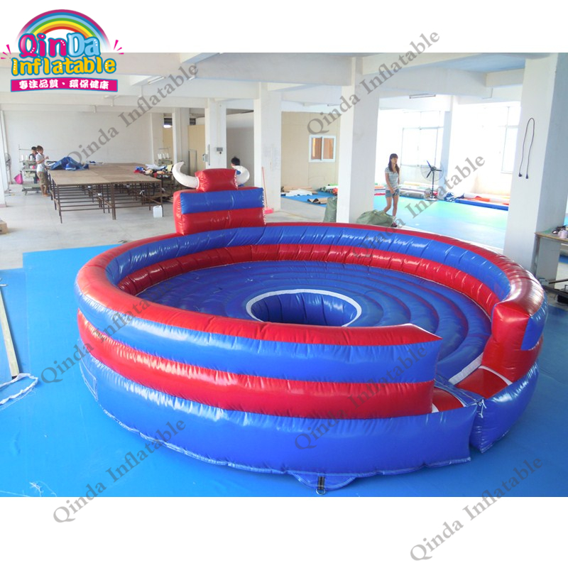 inflatable mechnical bull mat12