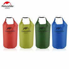 Naturehike 5/15/20L Waterproof Bag Storage Dry Bag for Canoe Kayak Rafting Sports Outdoor Camping Travel Kit Equipment free ship