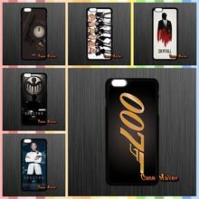 For Xiaomi Mi3 Mi4 Mi5 Redmi Note 2 3 Samsung Galaxy Alpha A9 E5 E7 S7 007 james bond spectre Skyfall Case Cover